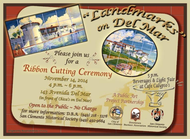 Landmarks on Del Mar Ribbon Cutting Invite 11_14_2014